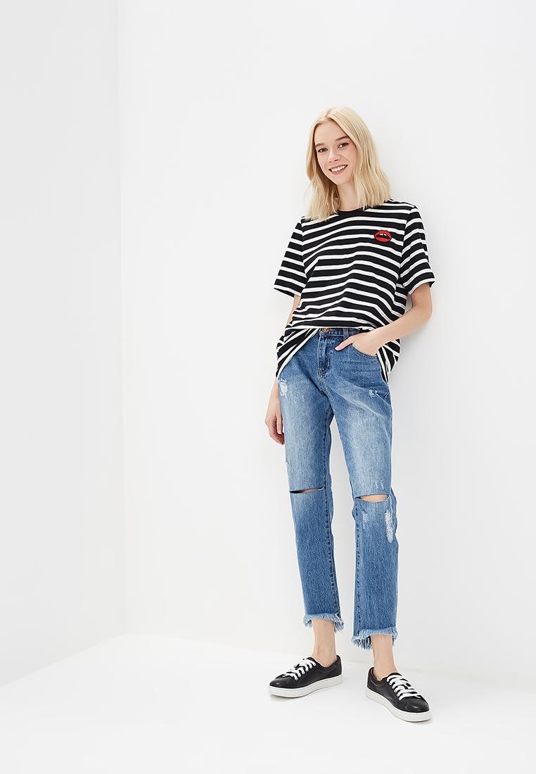 Зауженные джинсы One Teaspoon (Вантиспун) 20686: изображение 2