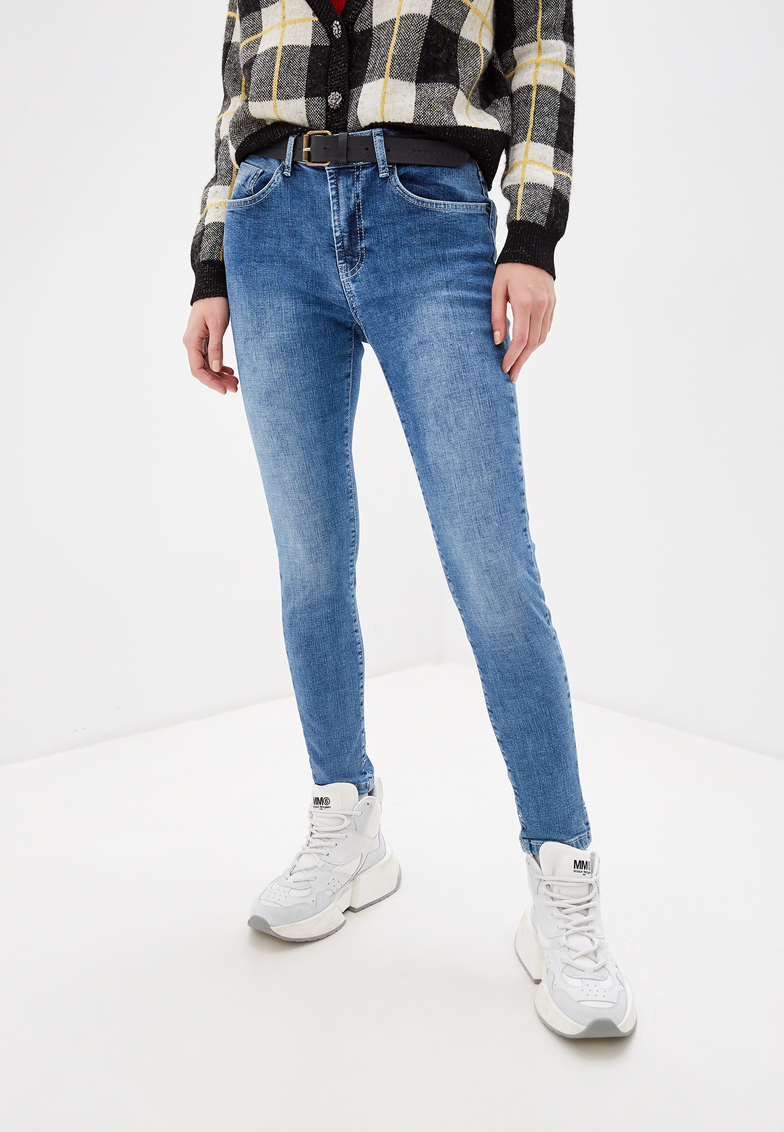 Зауженные джинсы One Teaspoon (Вантиспун) 22274