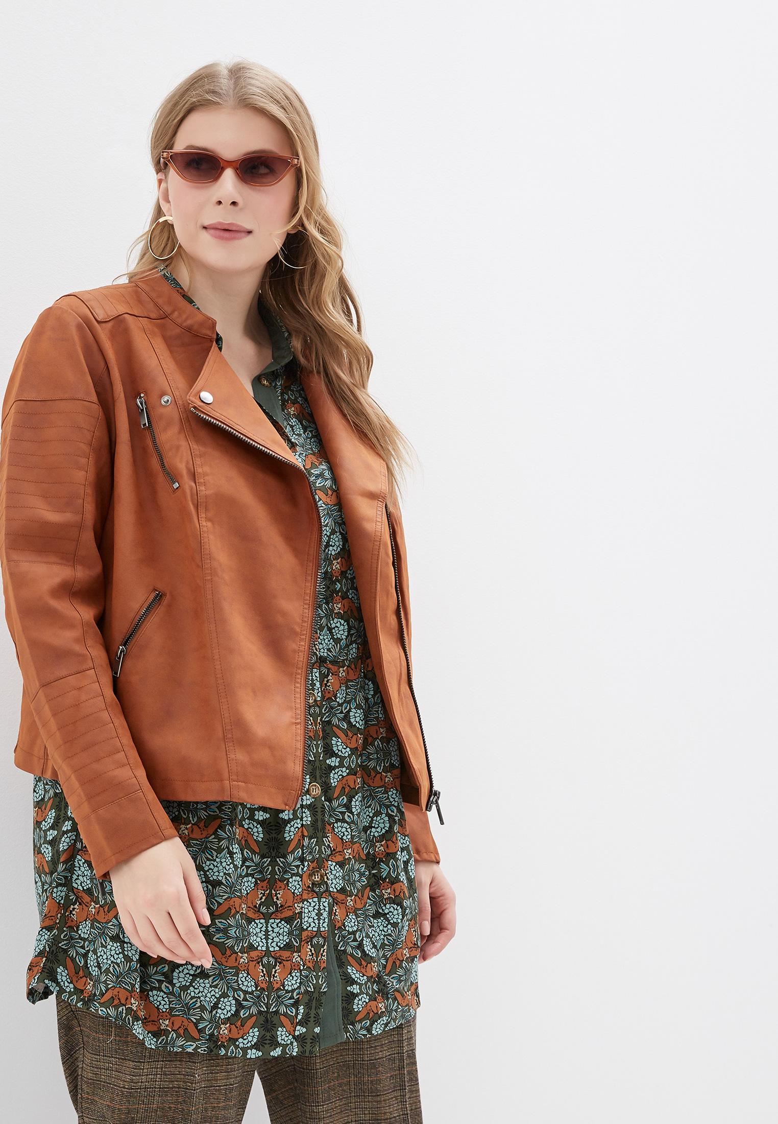 Кожаная куртка Only Carmakoma 15161651