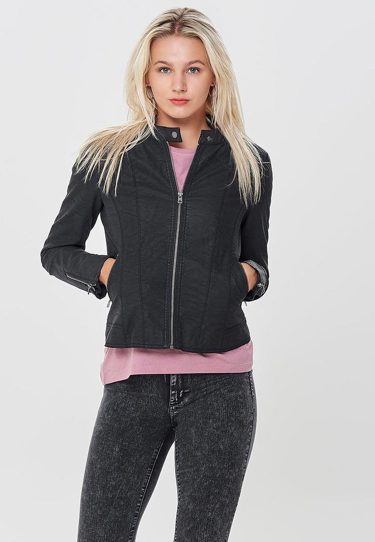 Кожаная куртка Only (Онли) 15156494