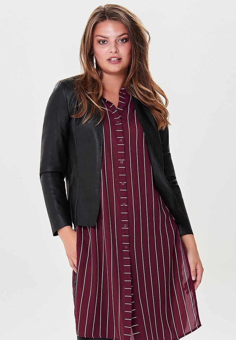 Кожаная куртка Only (Онли) 15164256