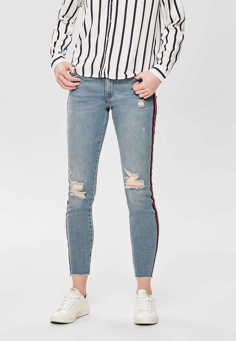 Зауженные джинсы Only (Онли) 15173559