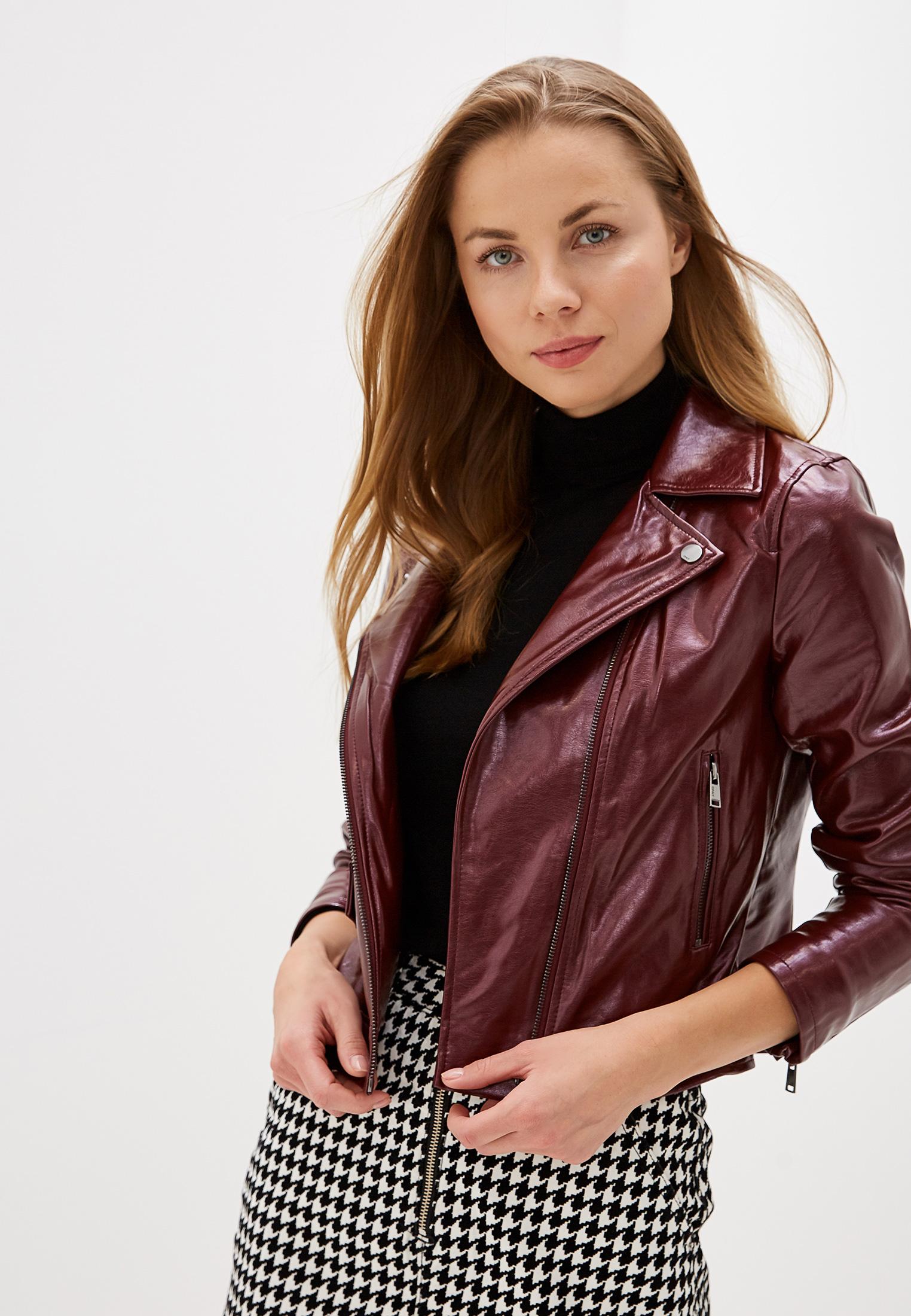 Кожаная куртка Only (Онли) 15186148