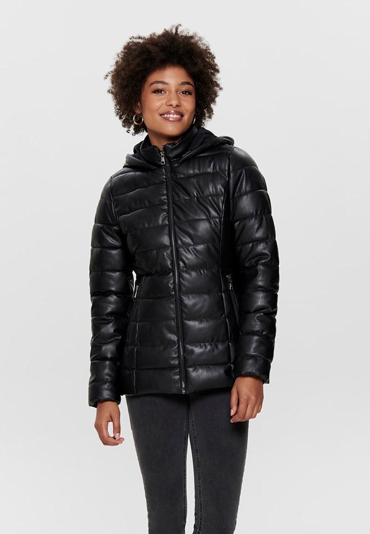 Кожаная куртка Only (Онли) 15188141