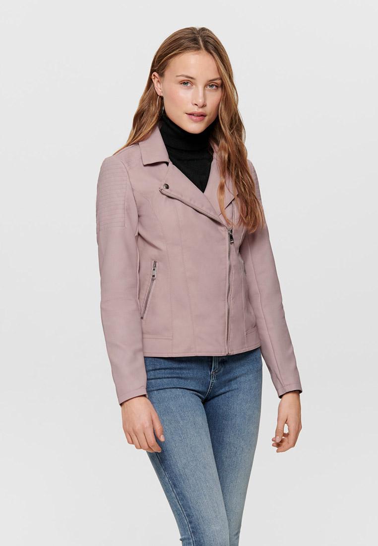 Кожаная куртка Only (Онли) 15191828