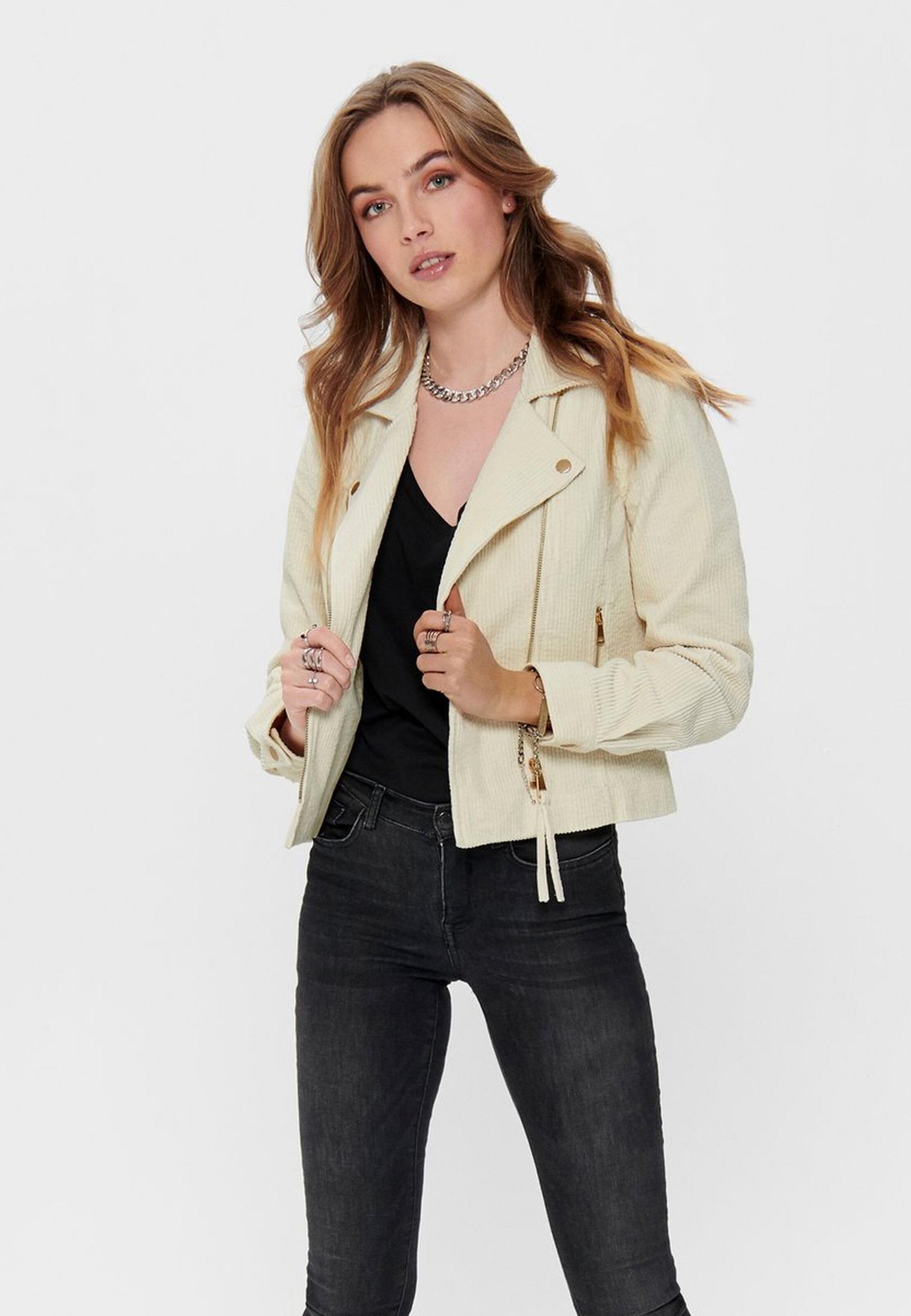 Кожаная куртка Only (Онли) 15196097