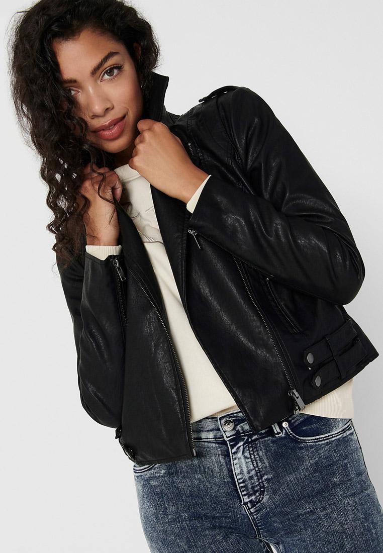 Кожаная куртка Only (Онли) 15206812