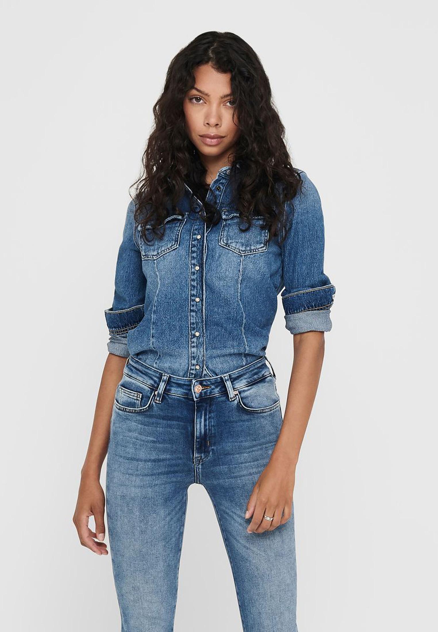 Женские джинсовые рубашки Only 15210205