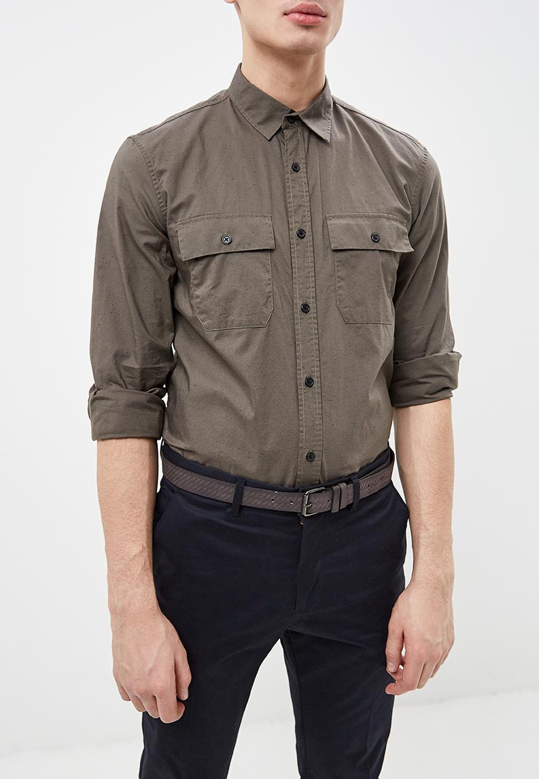 Рубашка с длинным рукавом O'stin MS5U15