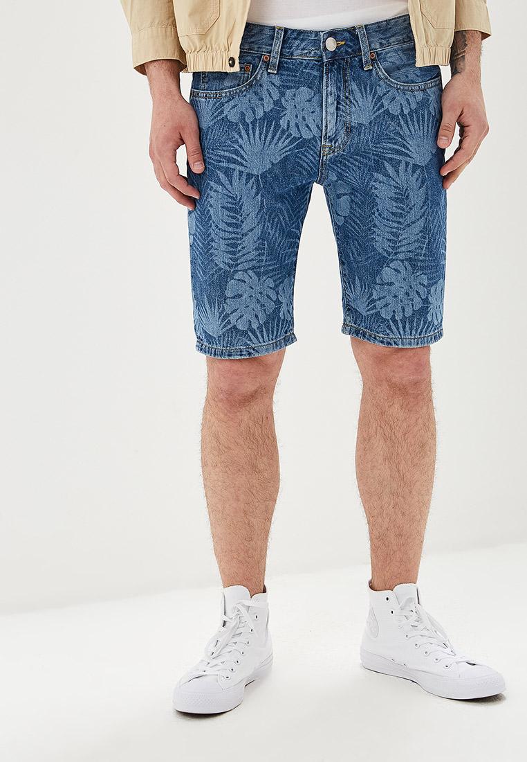 Мужские джинсовые шорты O'stin MP5U9A