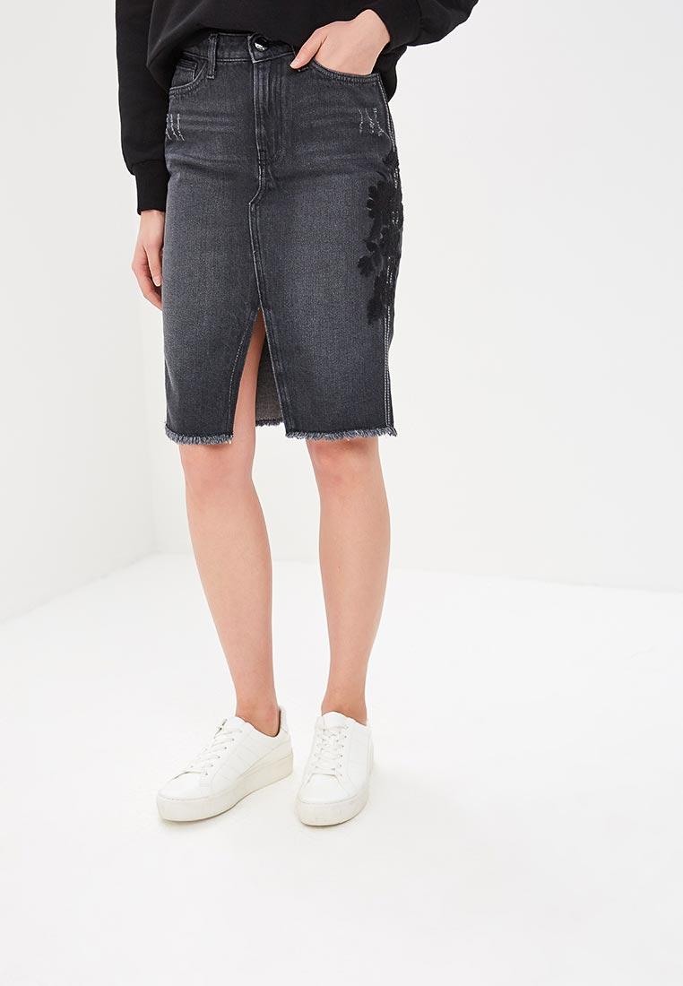 Джинсовая юбка O'stin LD4U31