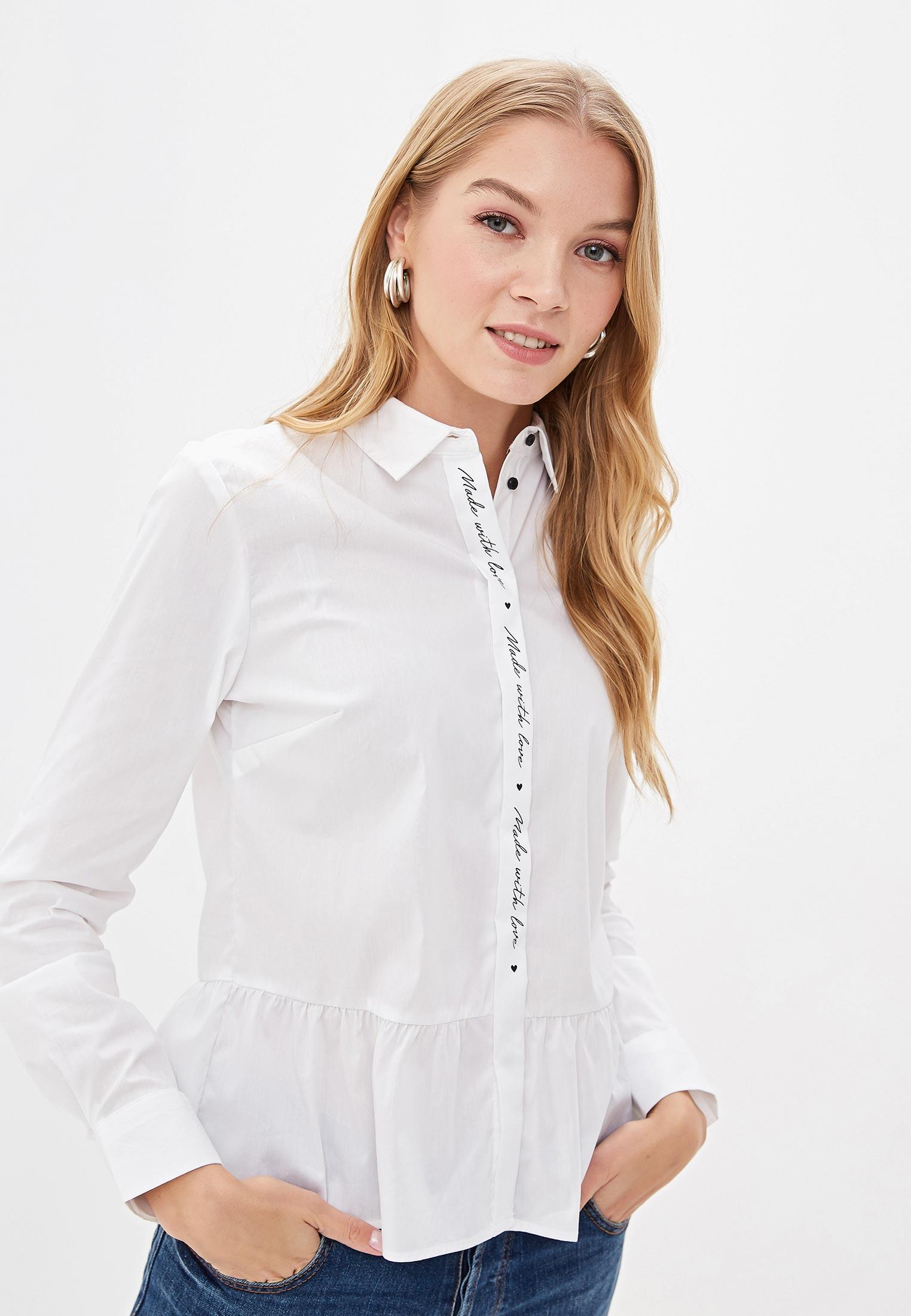 Женские рубашки с длинным рукавом O'stin LS4V42