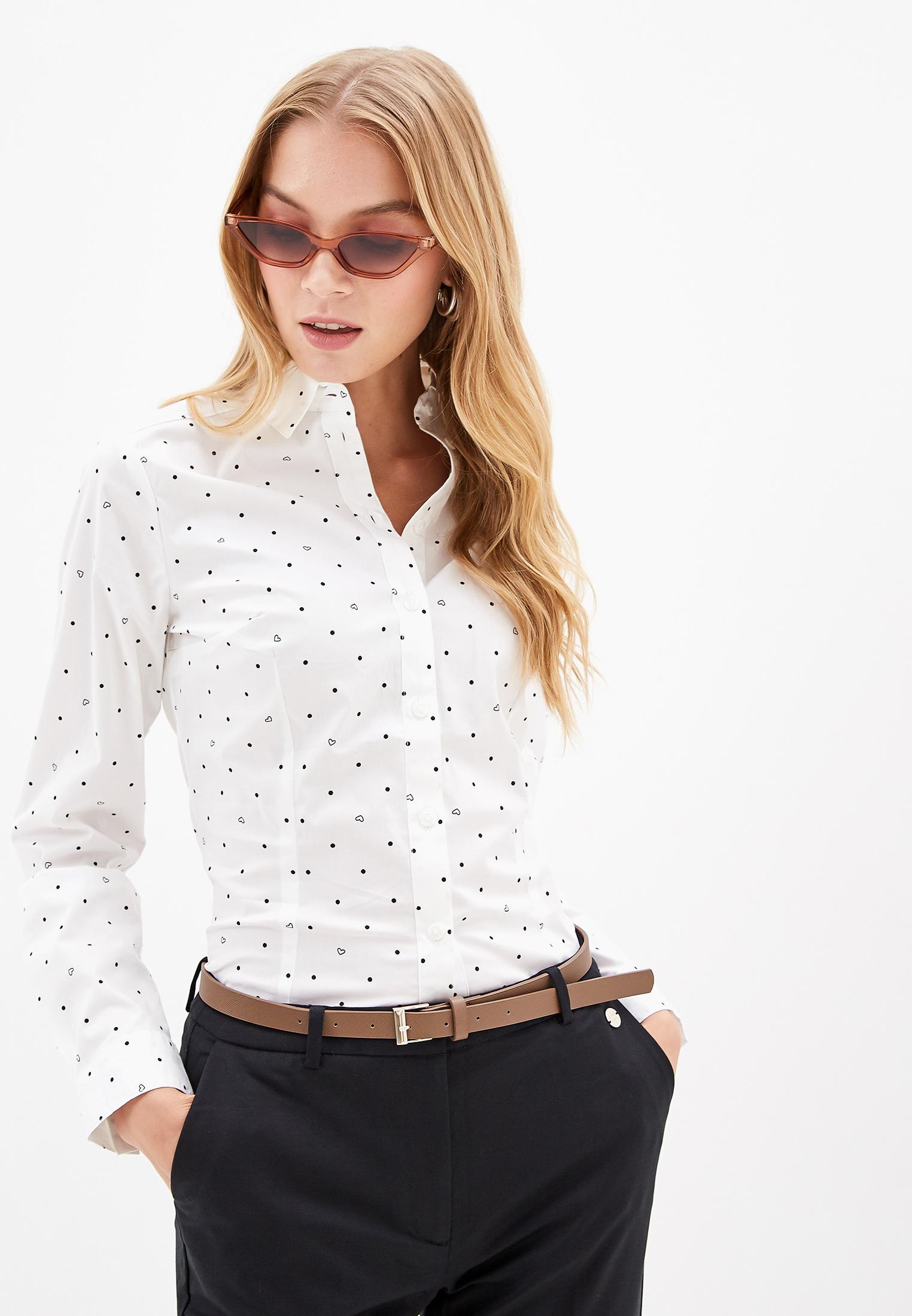 Женские рубашки с длинным рукавом O'stin LS5V45