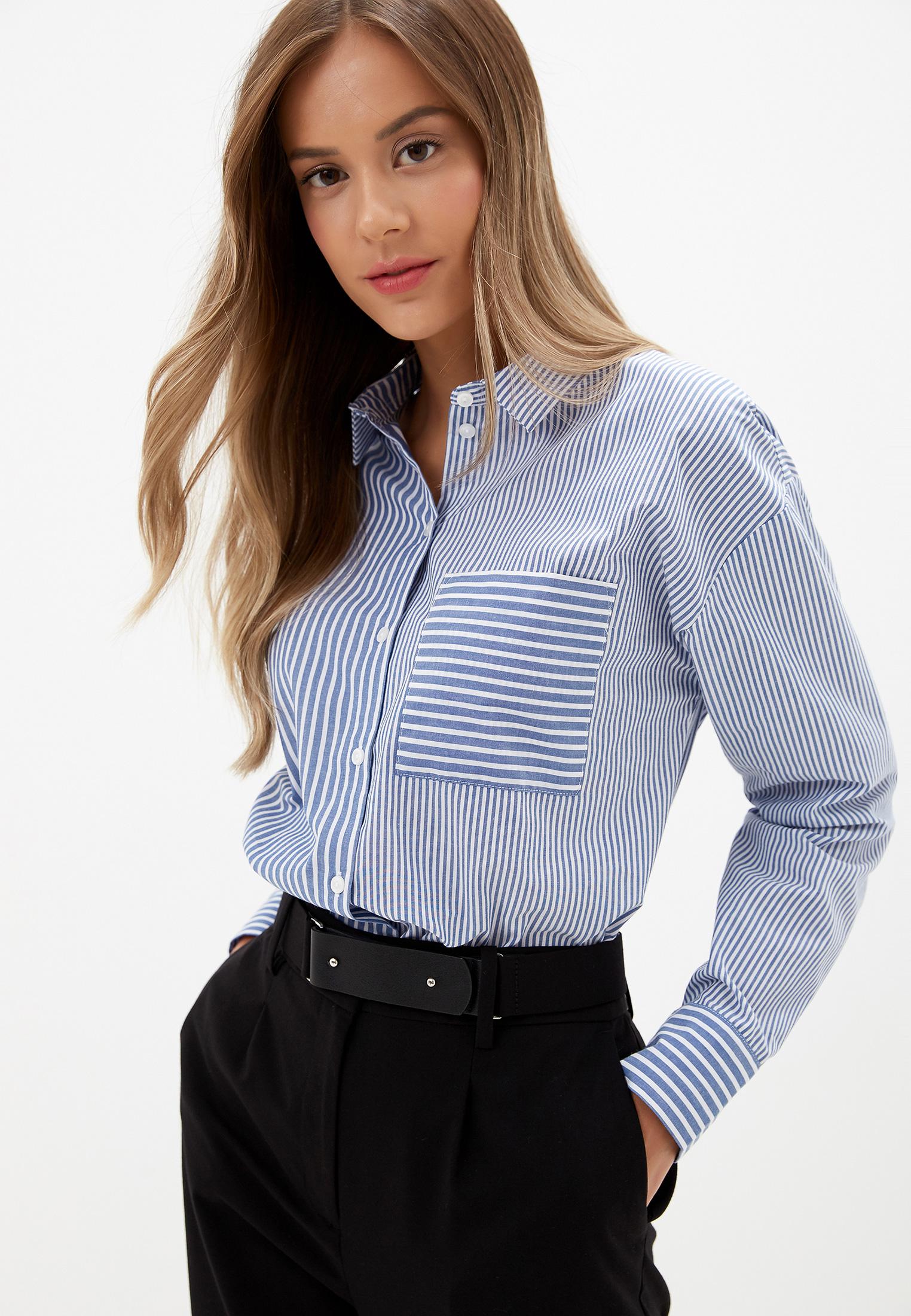 Женские рубашки с длинным рукавом O'stin LS5V46