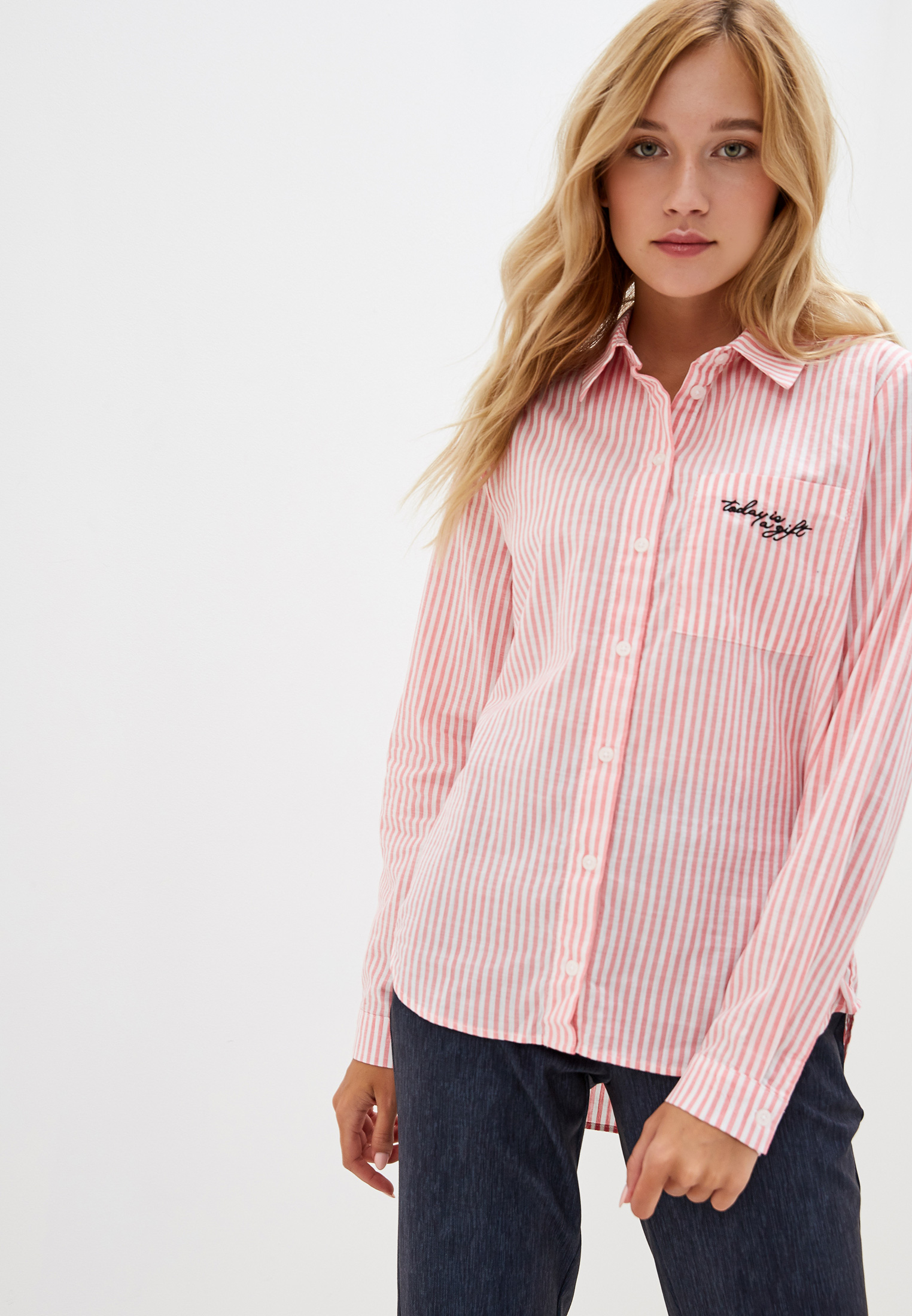 Женские рубашки с длинным рукавом O'stin LS2V61