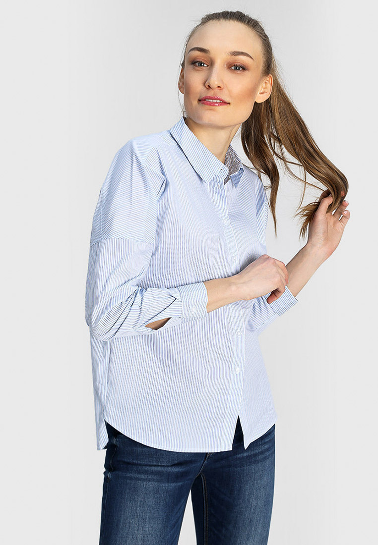 Женские рубашки с длинным рукавом O'stin LS4W51