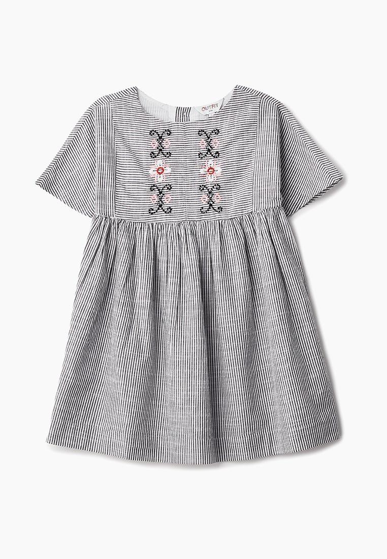 Повседневное платье Outfit Kids 68Q03BBLK