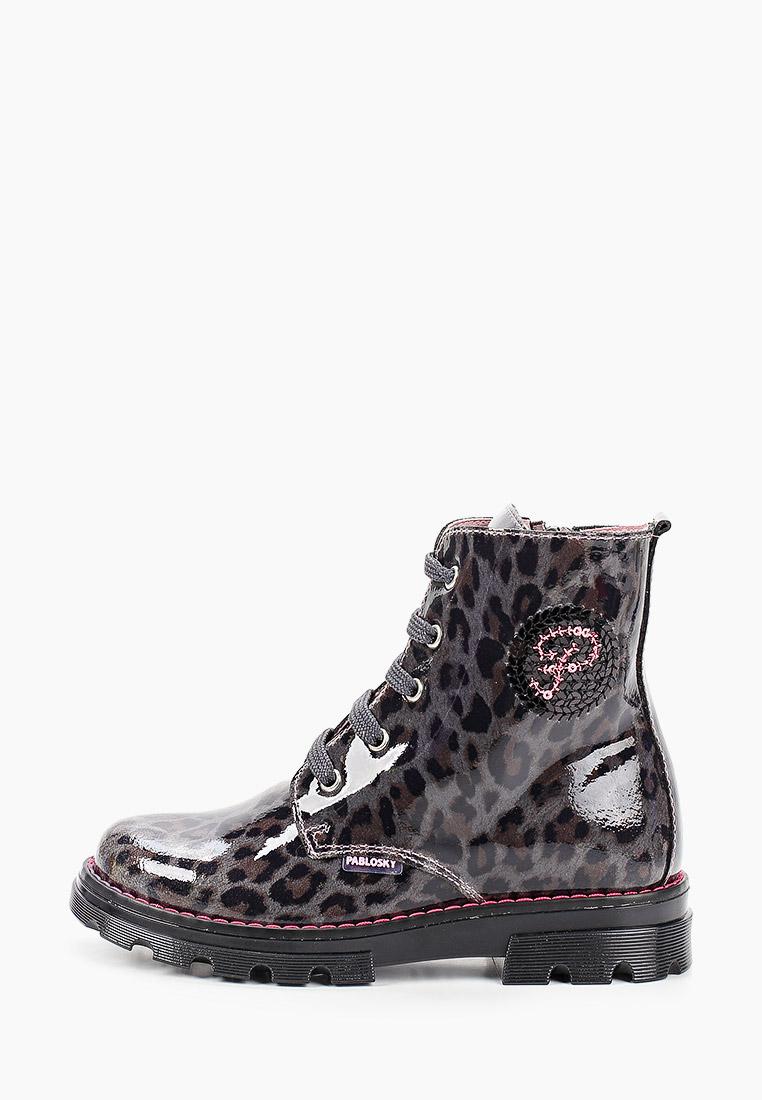 Ботинки для девочек Pablosky (Паблоски) 489751