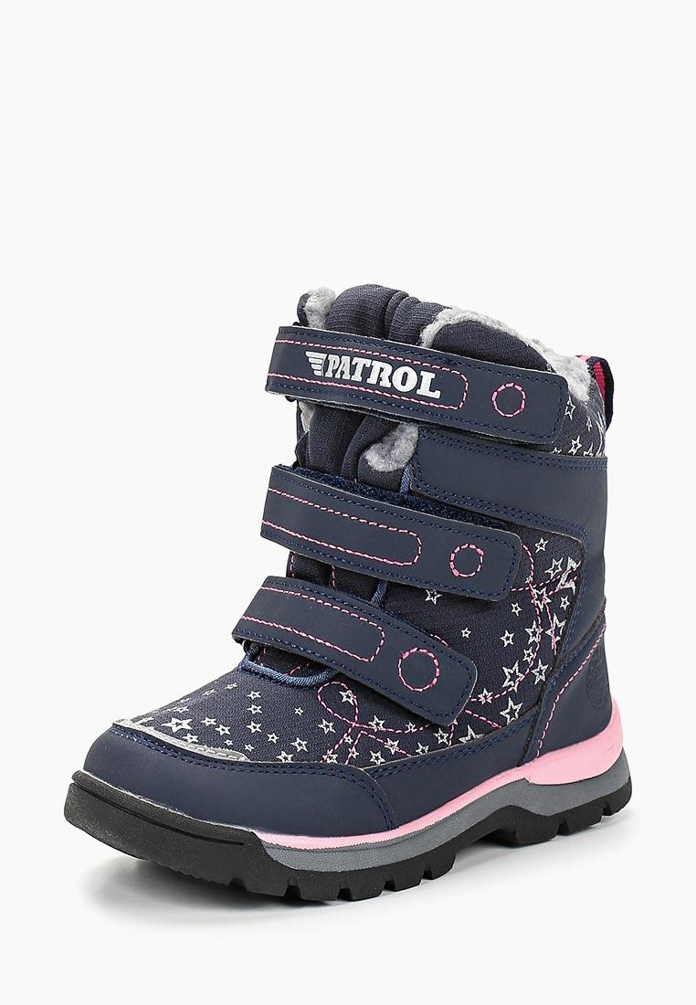 Ботинки для девочек Patrol (Патрол) 967-133IM-19w-01/8-16