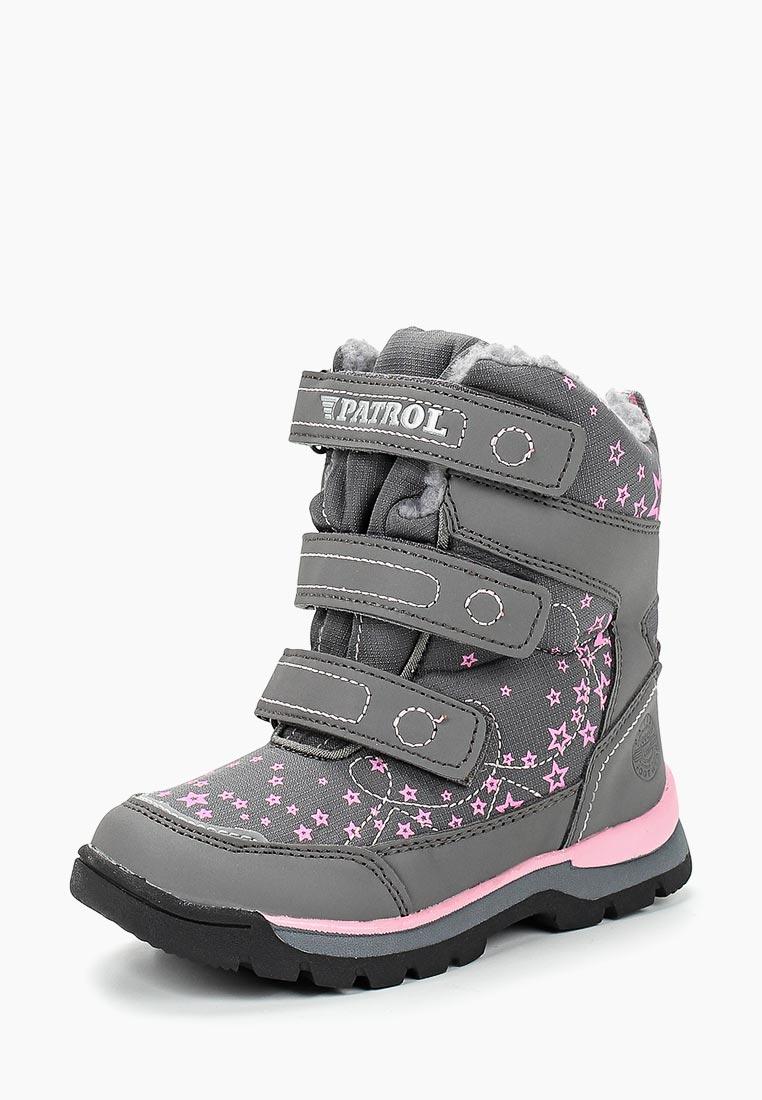 Ботинки для девочек Patrol (Патрол) 967-133IM-19w-01/8-5