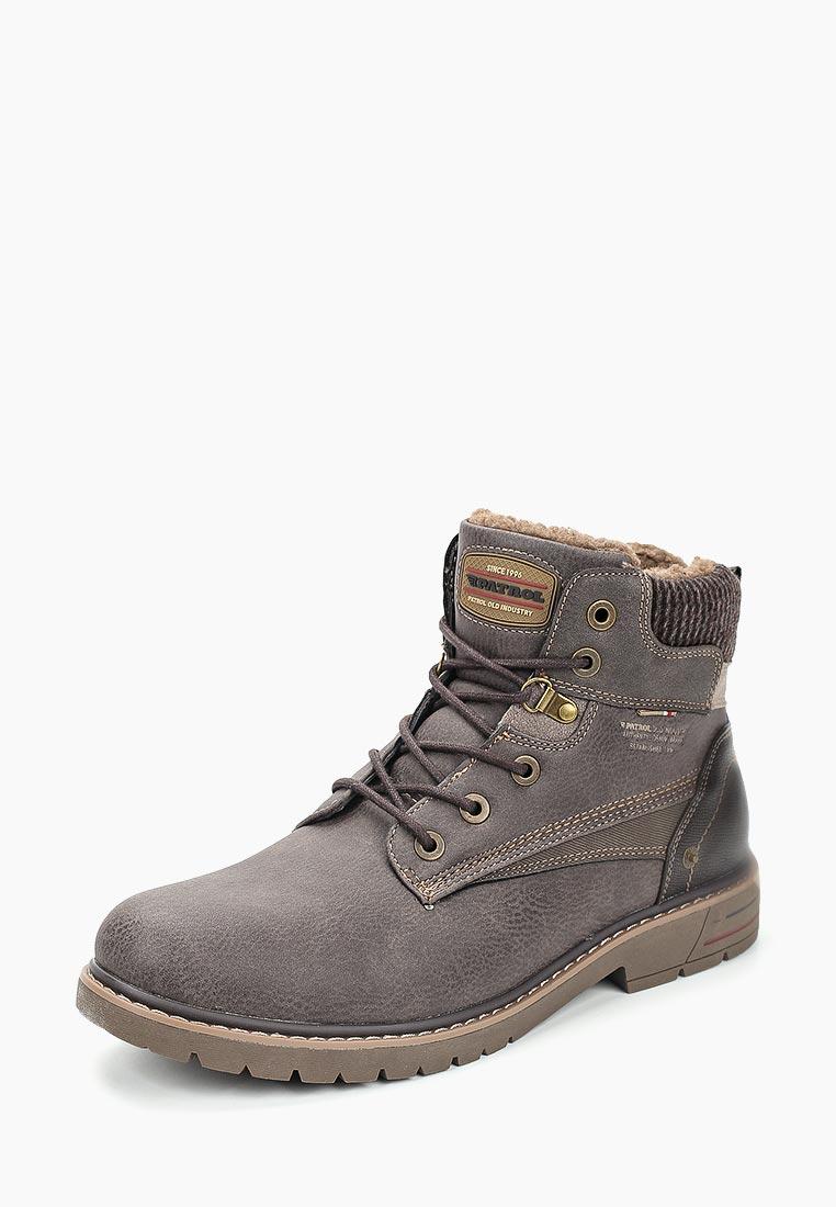 Мужские ботинки Patrol (Патрол) 461-148IM-19w-01-2