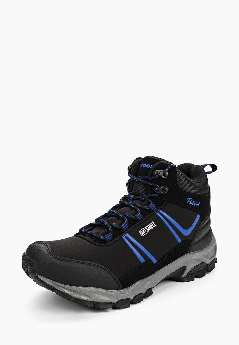 Спортивные мужские ботинки Patrol (Патрол) 496-802F-19w-8-1/16