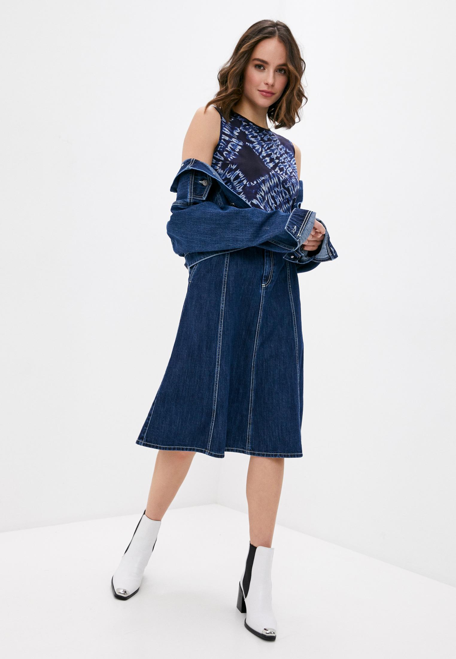 Джинсовая юбка P.A.R.O.S.H. CEANSID620407: изображение 3