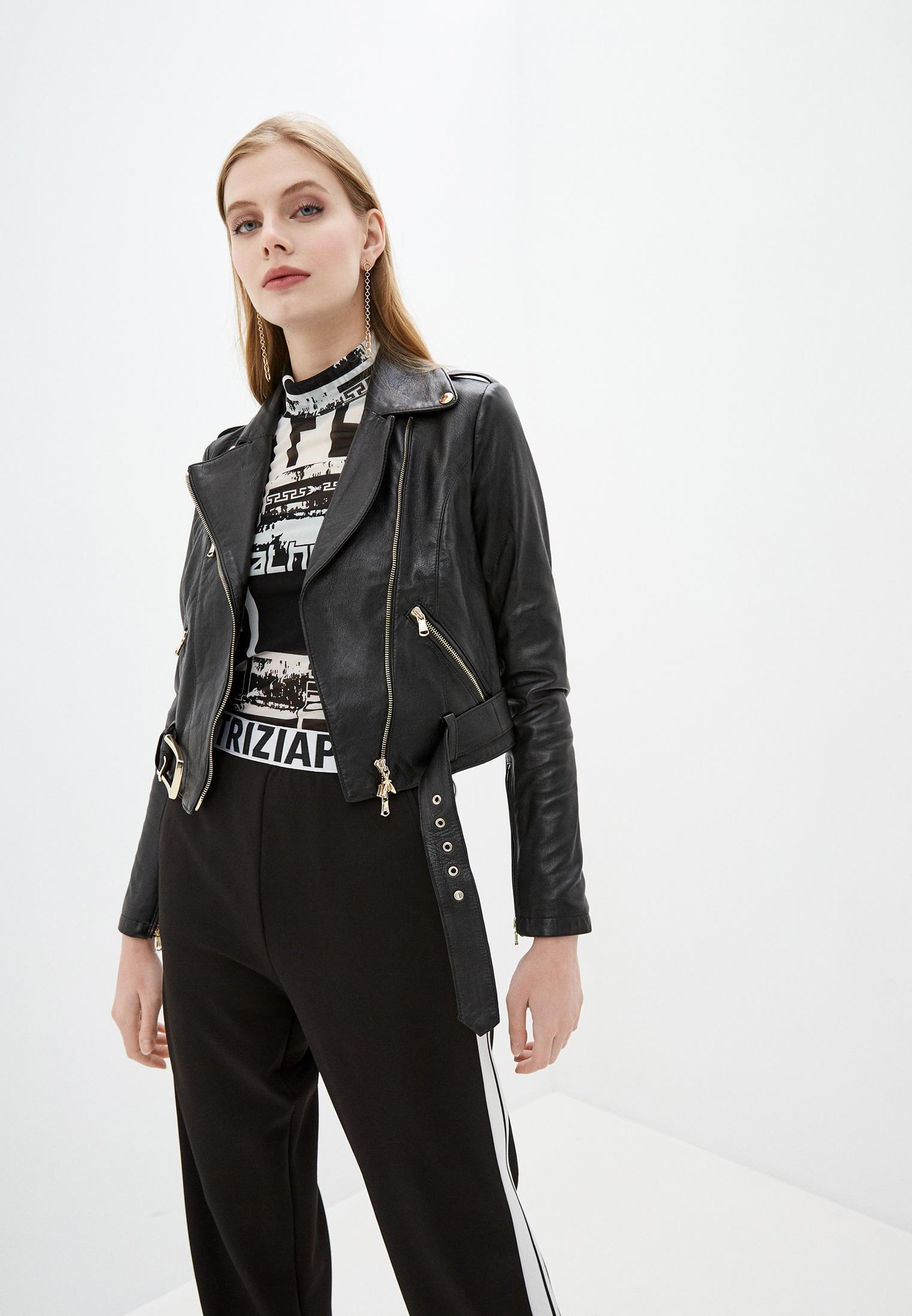 Кожаная куртка Patrizia Pepe (Патриция Пепе) 2L0874