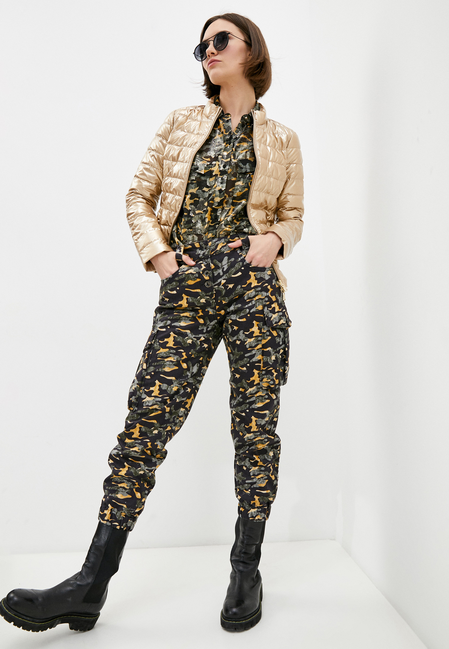 Утепленная куртка Patrizia Pepe (Патриция Пепе) 8S0178 A8S7: изображение 3