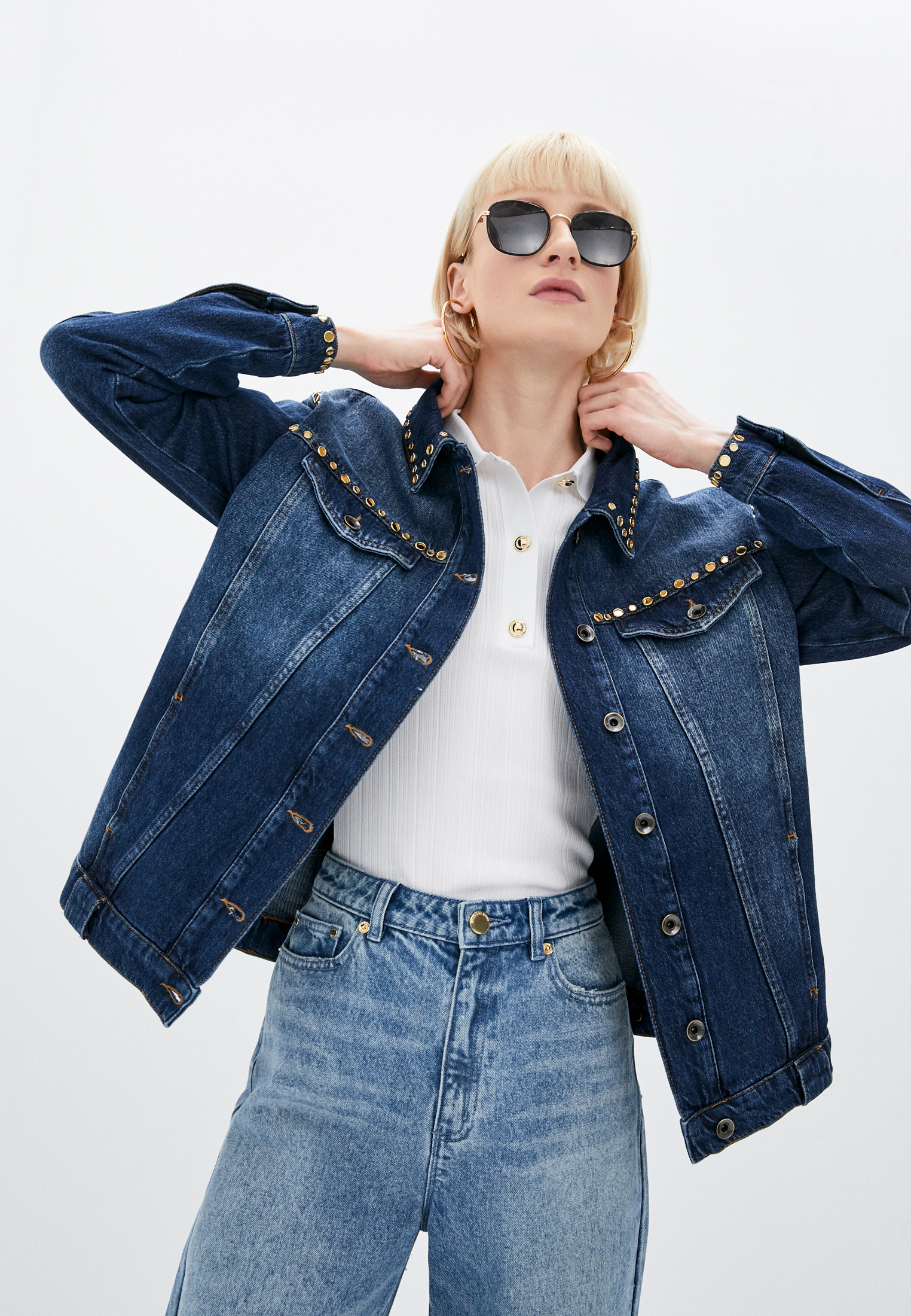 Джинсовая куртка Patrizia Pepe (Патриция Пепе) 8J0961 A8N2