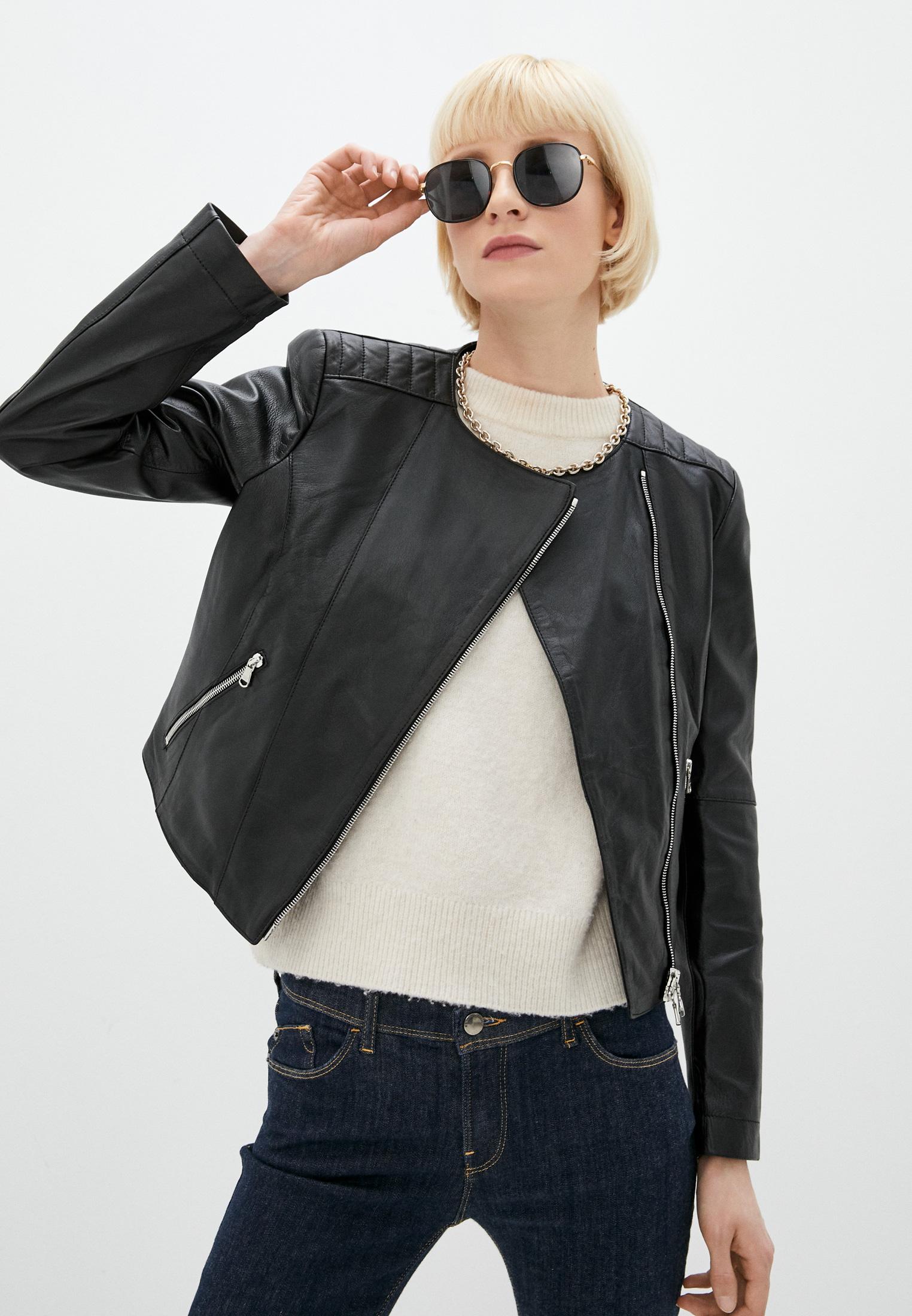 Кожаная куртка Patrizia Pepe (Патриция Пепе) CL0361 A1HZ: изображение 1