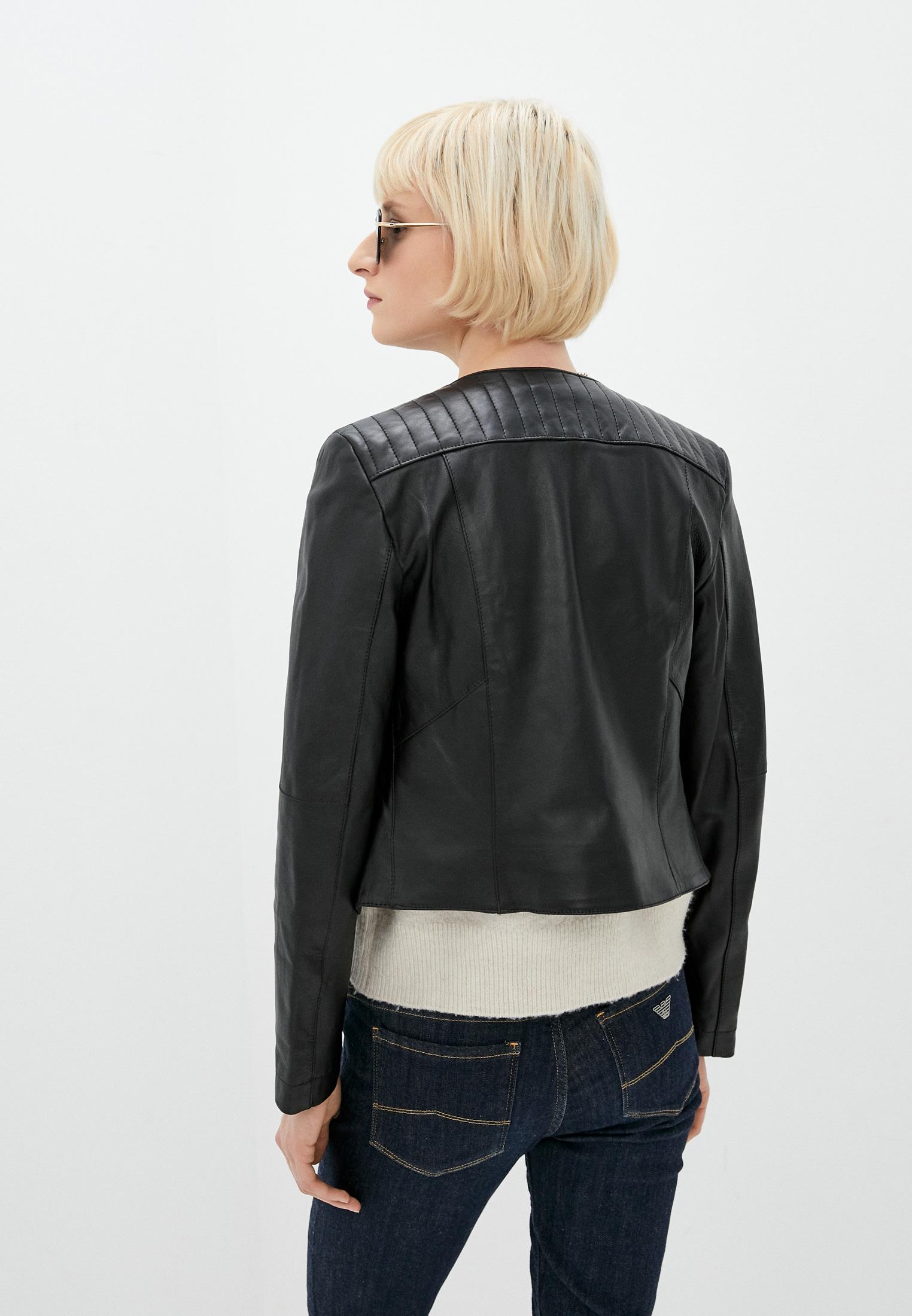 Кожаная куртка Patrizia Pepe (Патриция Пепе) CL0361 A1HZ: изображение 4