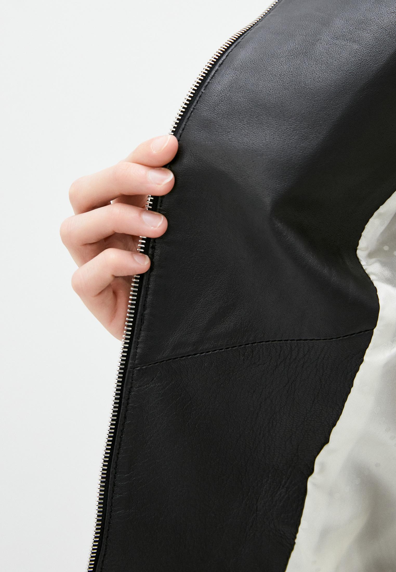 Кожаная куртка Patrizia Pepe (Патриция Пепе) CL0361 A1HZ: изображение 5
