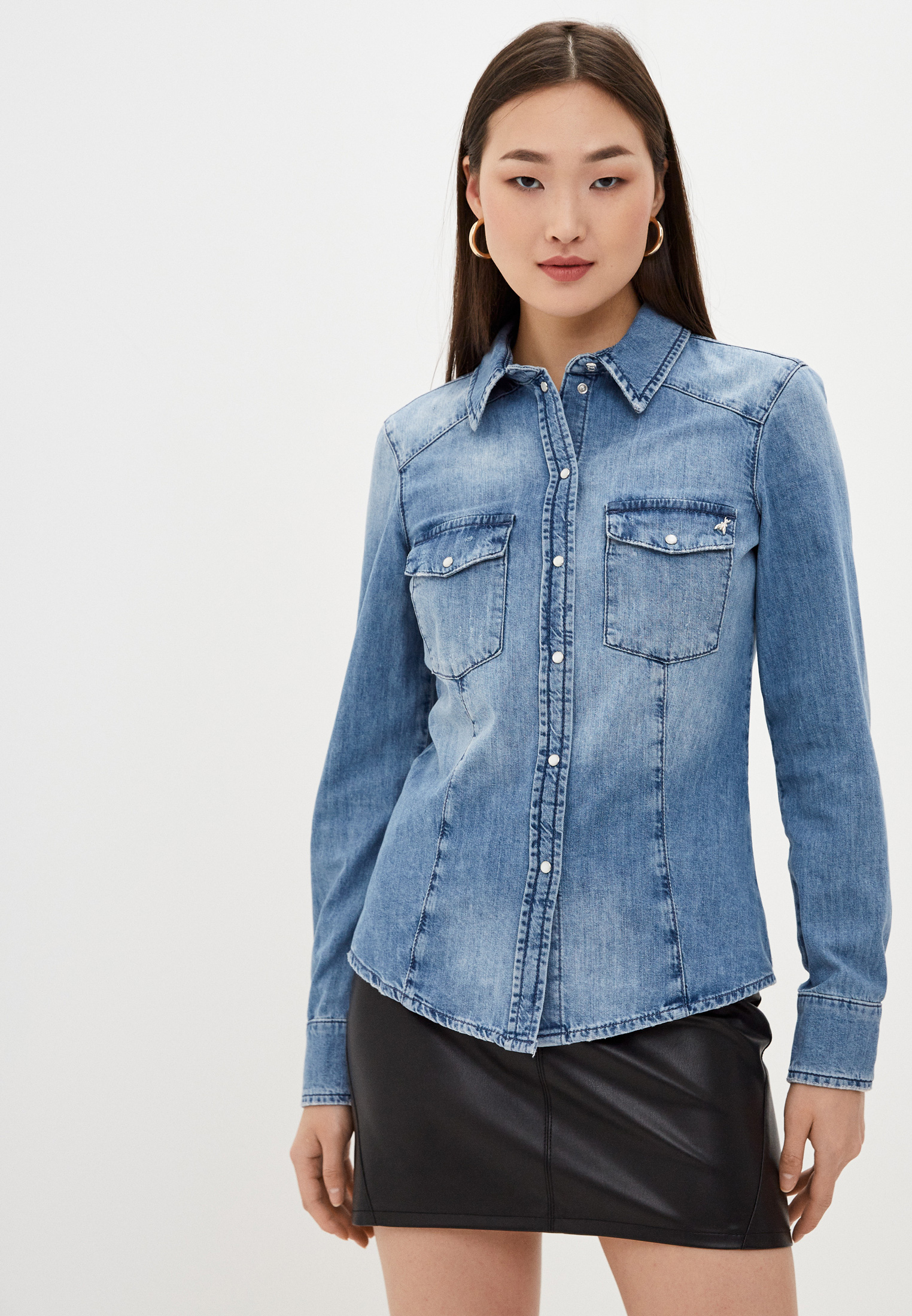 Рубашка Patrizia Pepe (Патриция Пепе) 8J0962 A8V0: изображение 5