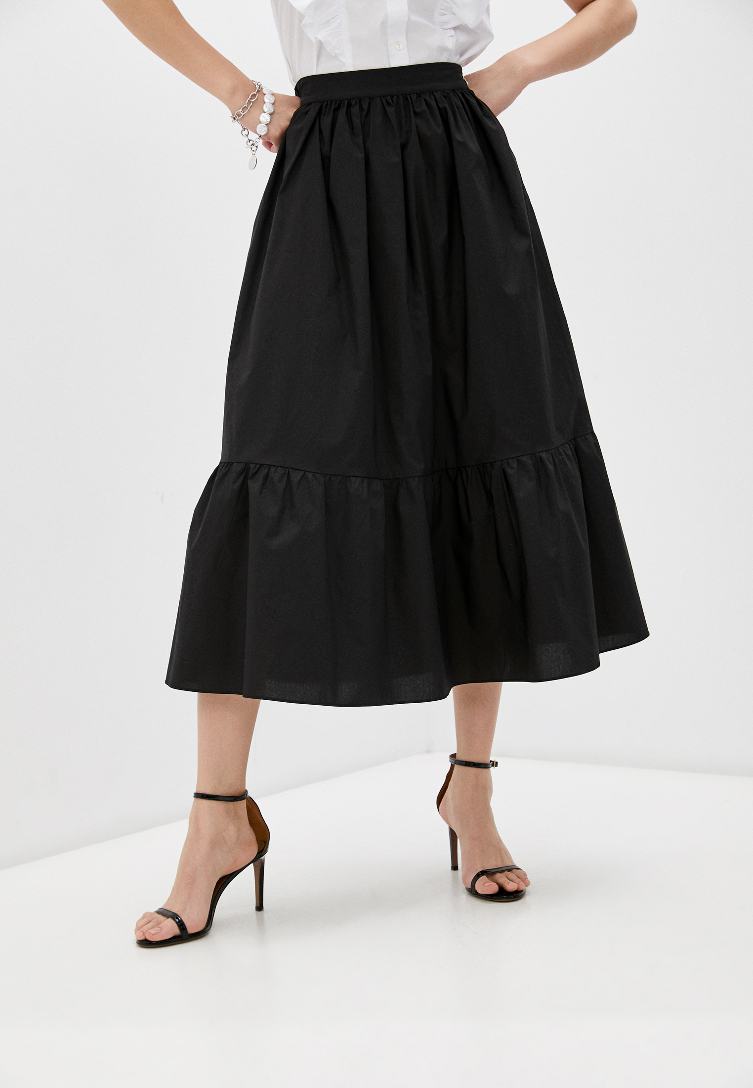 Широкая юбка Patrizia Pepe (Патриция Пепе) 2G0807 A9B9