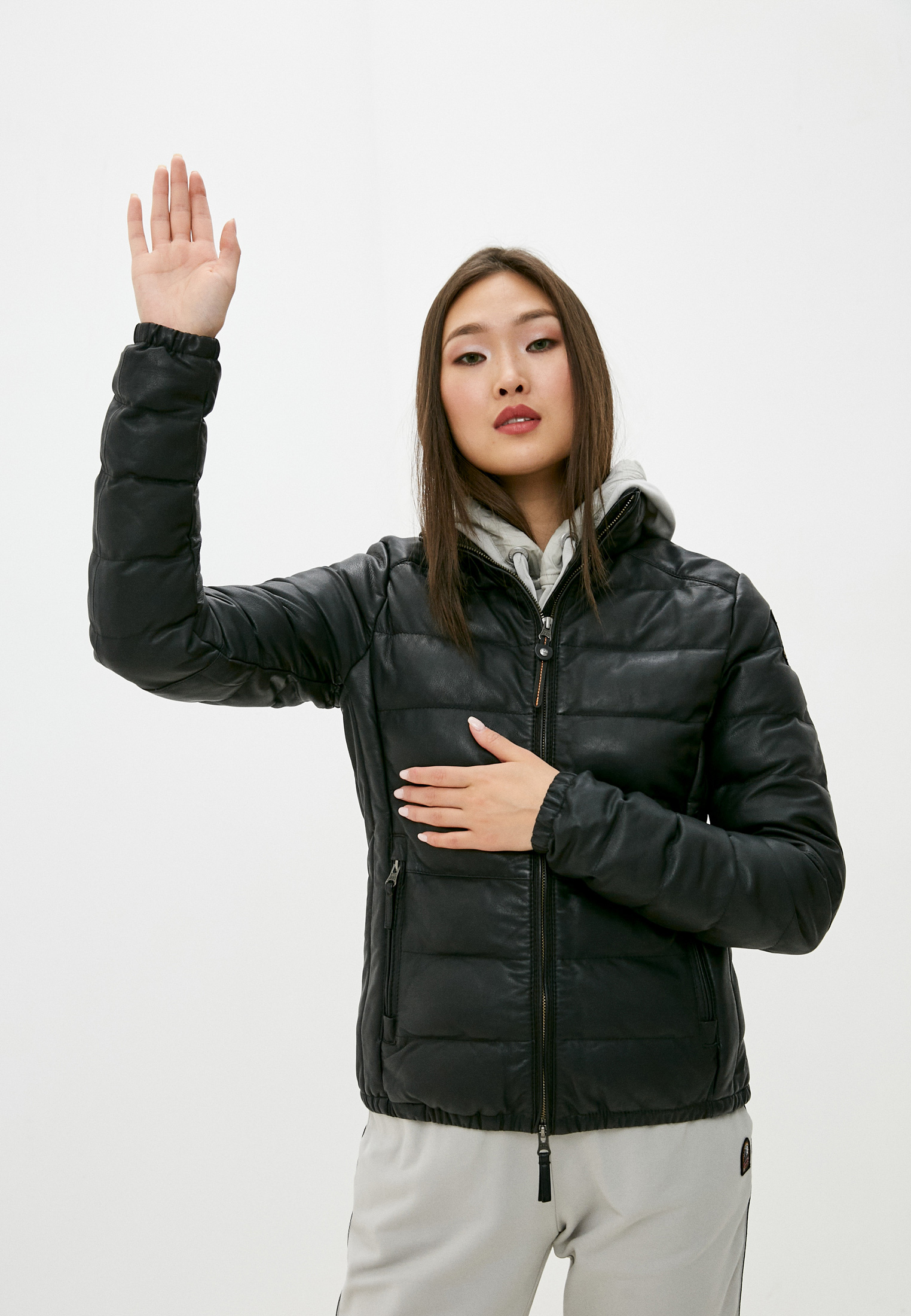 Кожаная куртка Parajumpers 20WM-PWJCKLE31