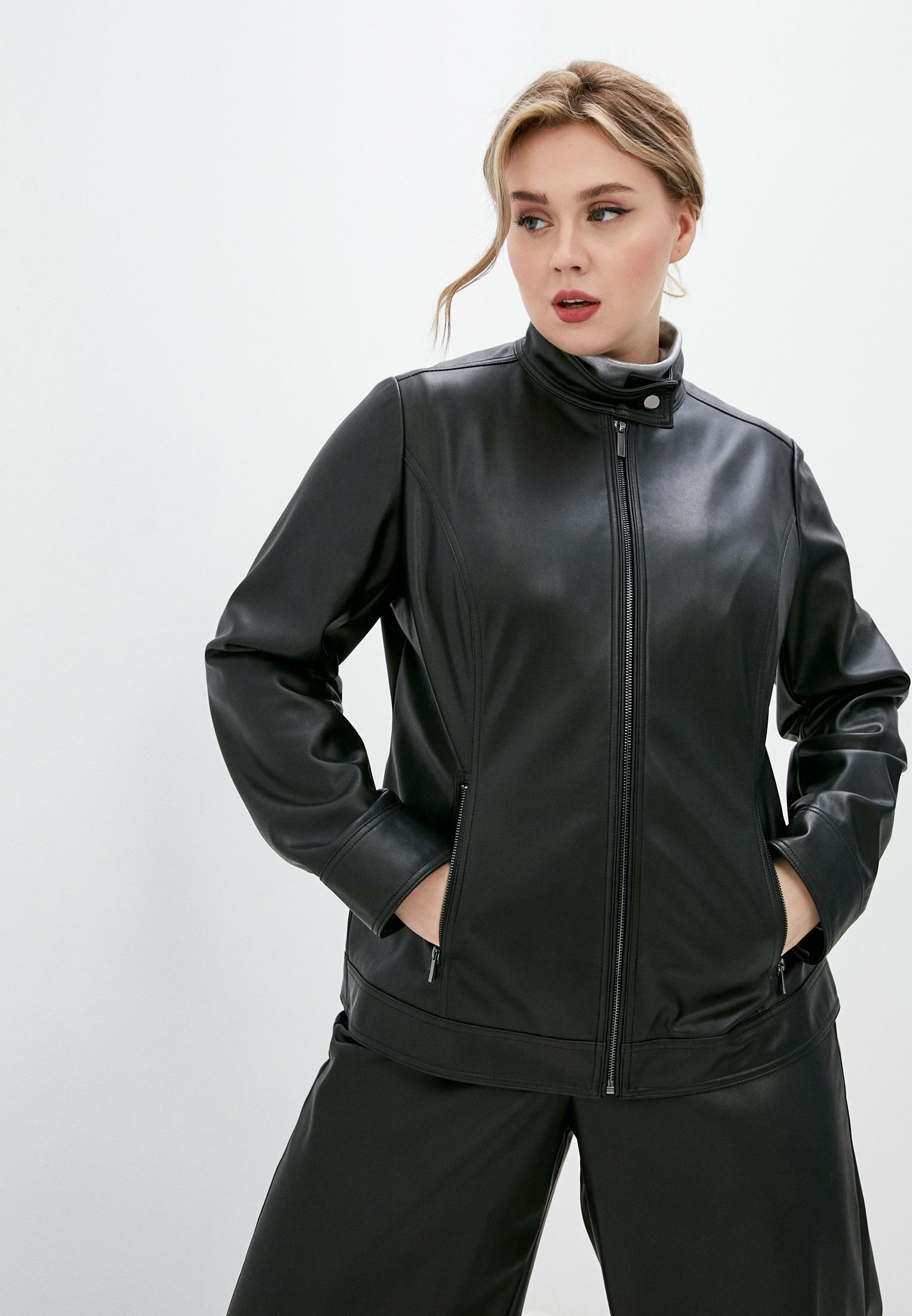 Кожаная куртка Persona by Marina Rinaldi 1043400