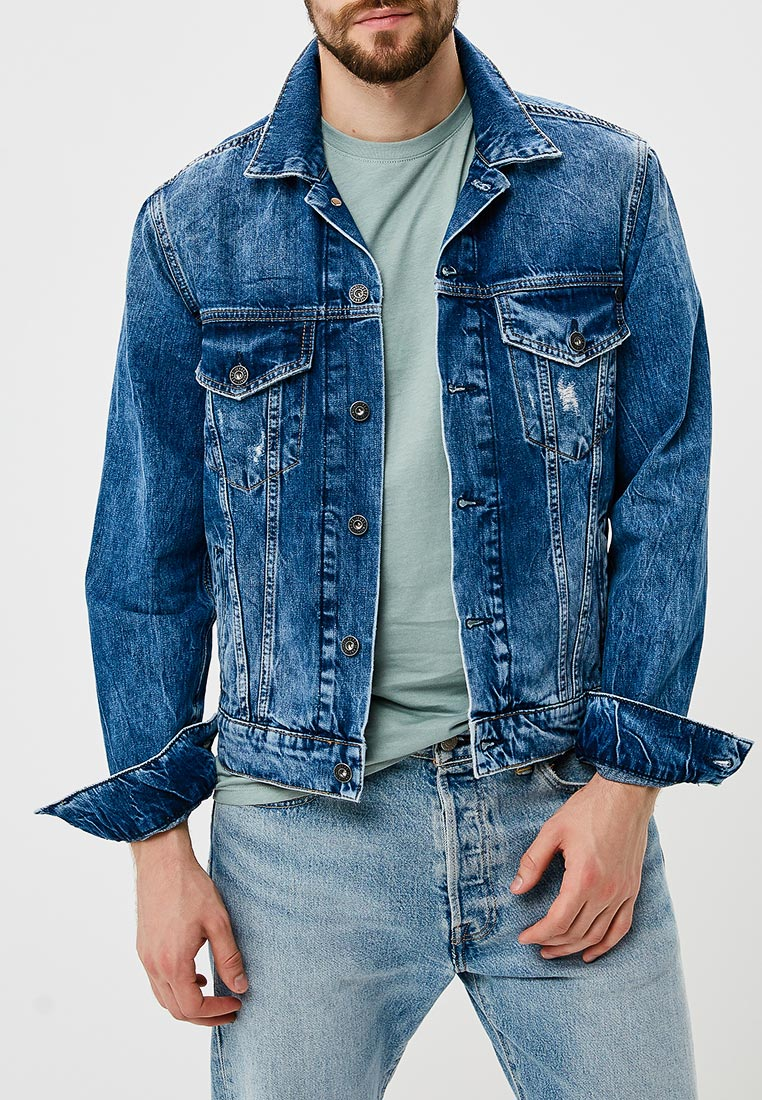 Джинсовая куртка Pepe Jeans (Пепе Джинс) PM400908GF6