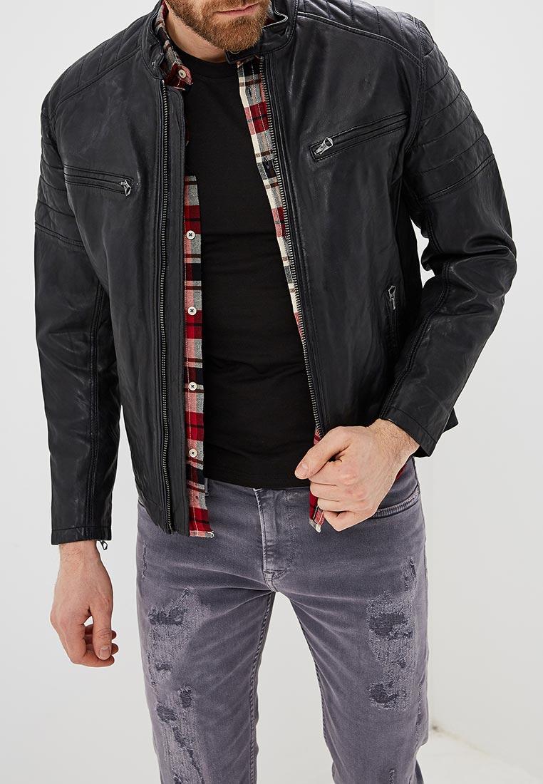 Кожаная куртка Pepe Jeans (Пепе Джинс) PM401905
