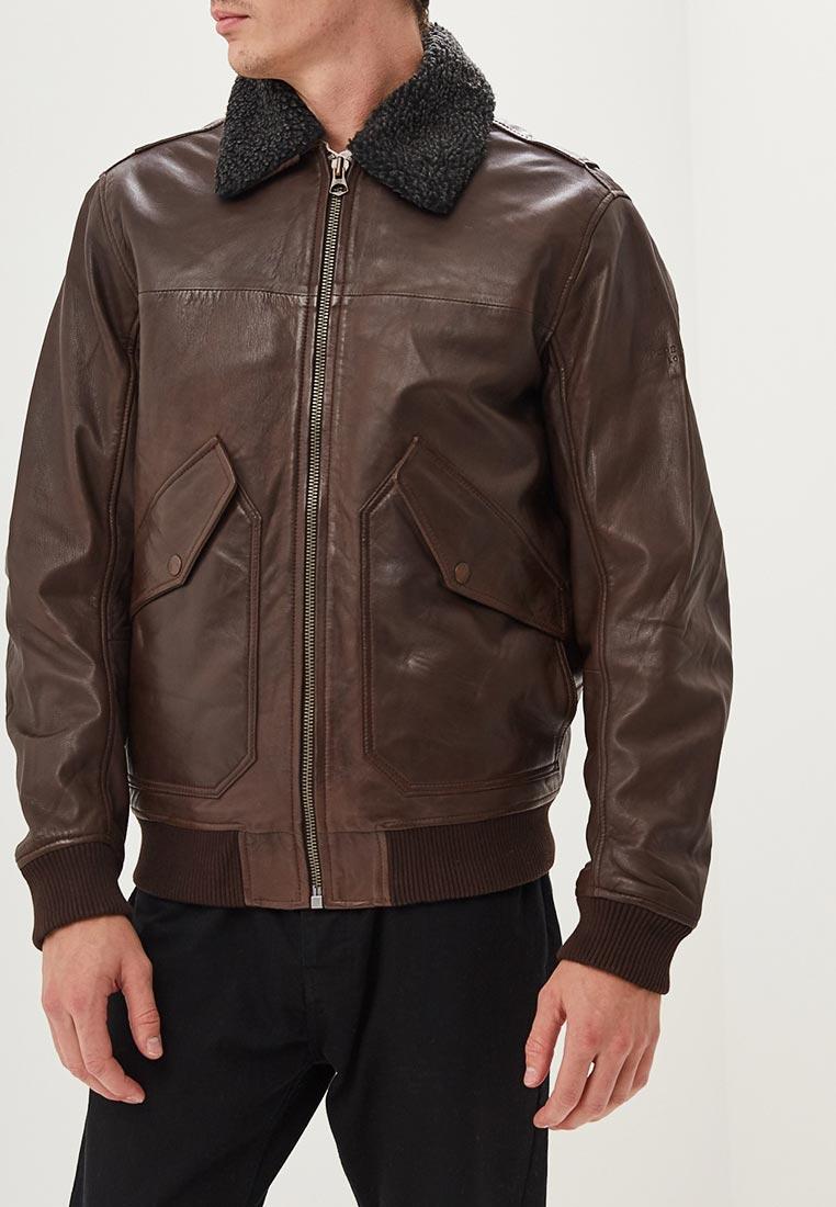 Кожаная куртка Pepe Jeans (Пепе Джинс) PM401934