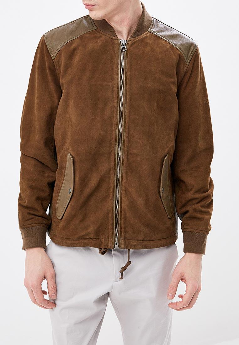 Кожаная куртка Pepe Jeans (Пепе Джинс) PM401949
