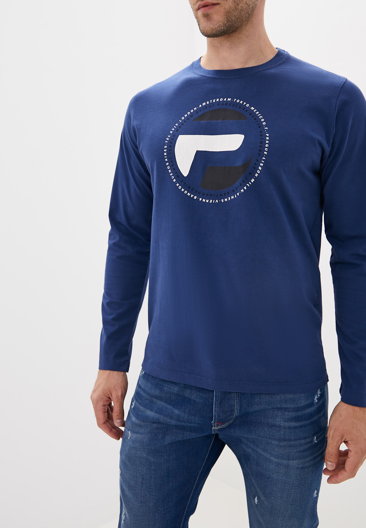 Футболка с длинным рукавом Pepe Jeans (Пепе Джинс) PM506549