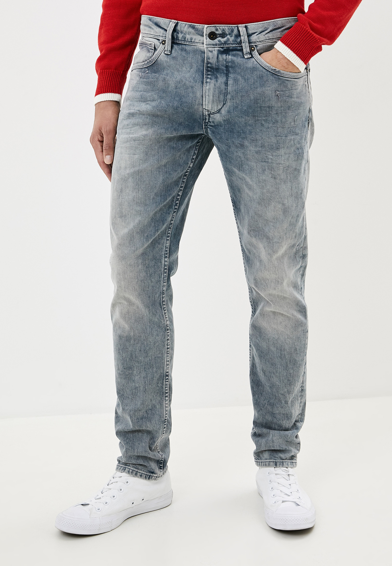 Зауженные джинсы Pepe Jeans (Пепе Джинс) PM205139