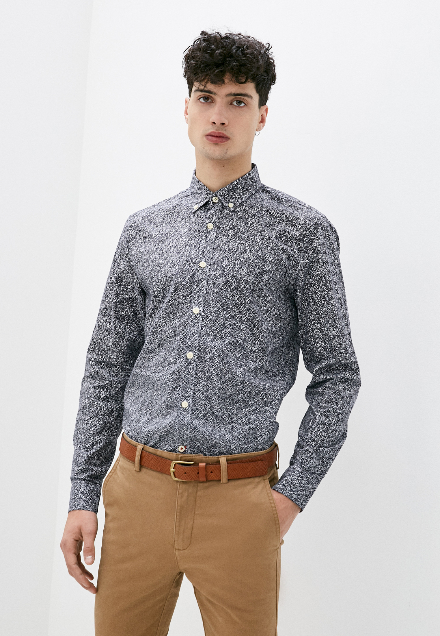 Рубашка с длинным рукавом Pepe Jeans (Пепе Джинс) PM306505