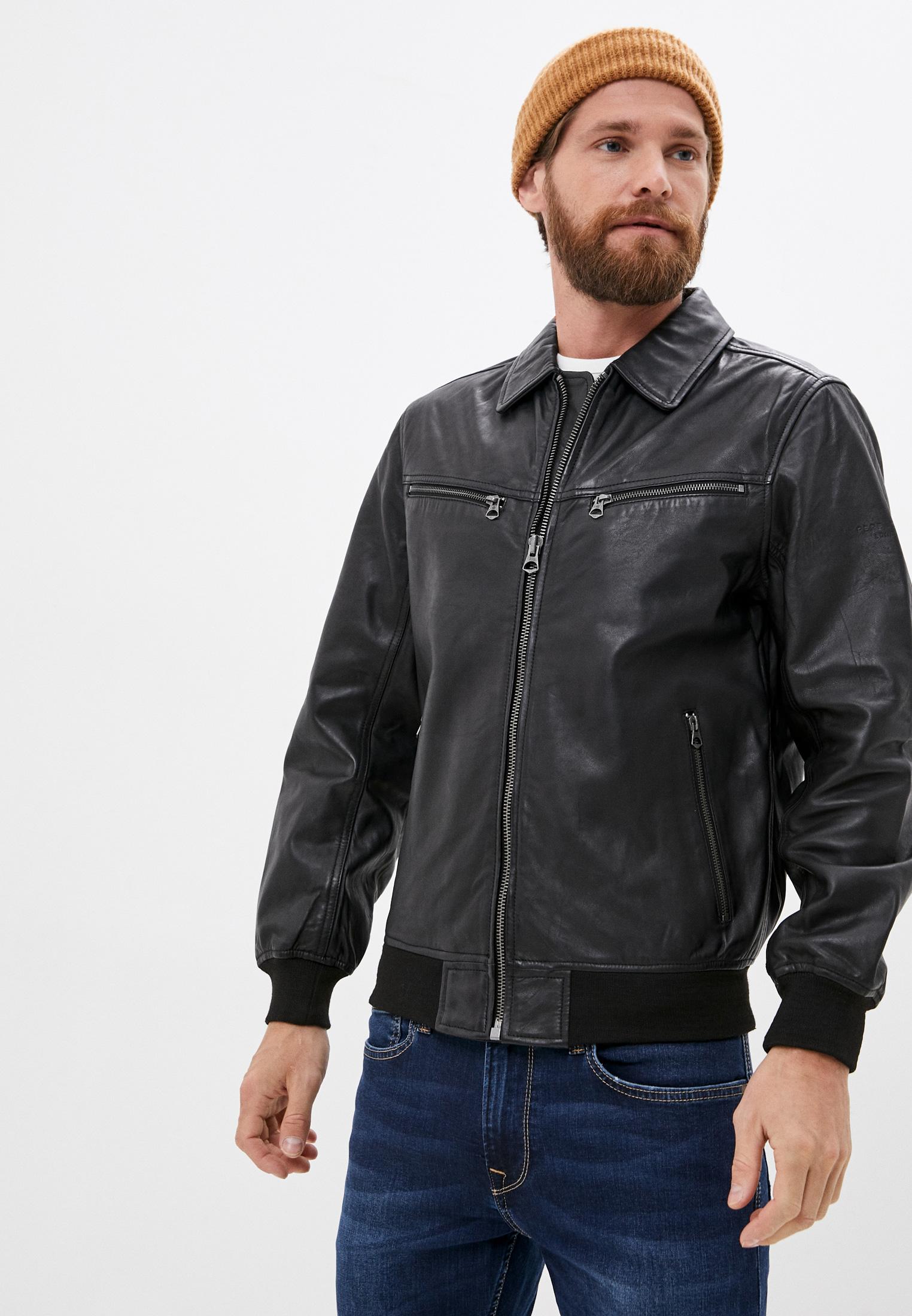 Кожаная куртка Pepe Jeans (Пепе Джинс) PM402283