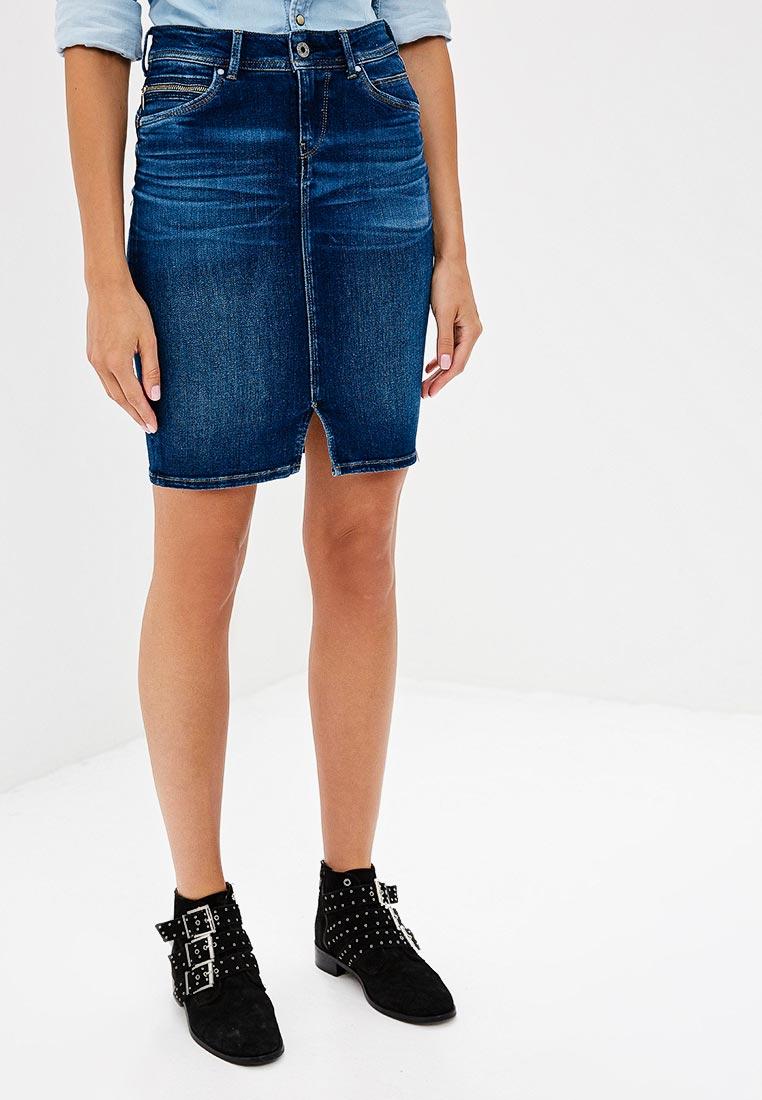 Мини-юбка Pepe Jeans (Пепе Джинс) PL900443CH4