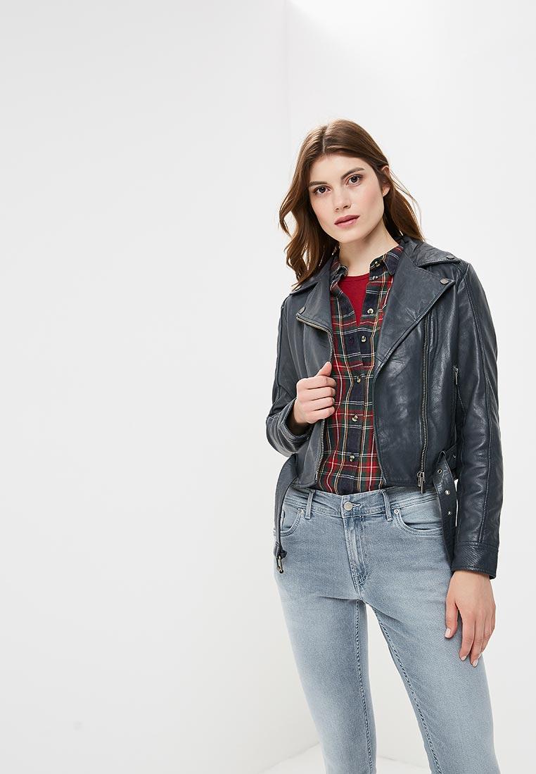Кожаная куртка Pepe Jeans (Пепе Джинс) PL401486