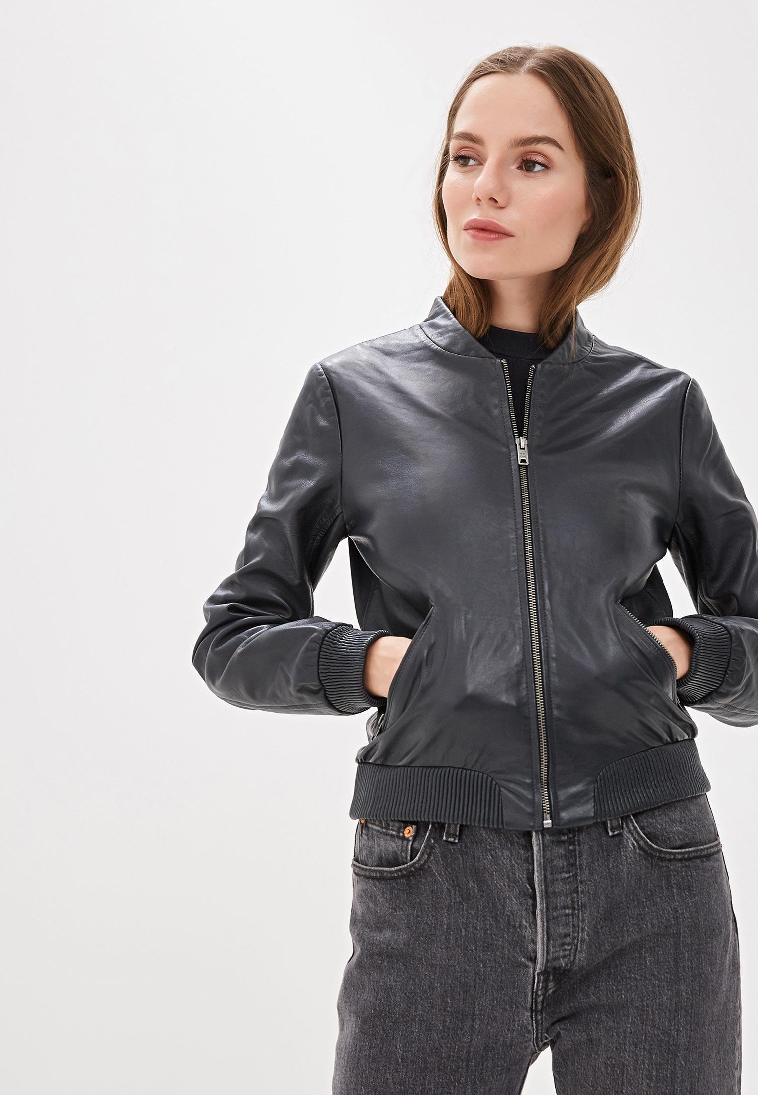 Кожаная куртка Pepe Jeans (Пепе Джинс) PL401673