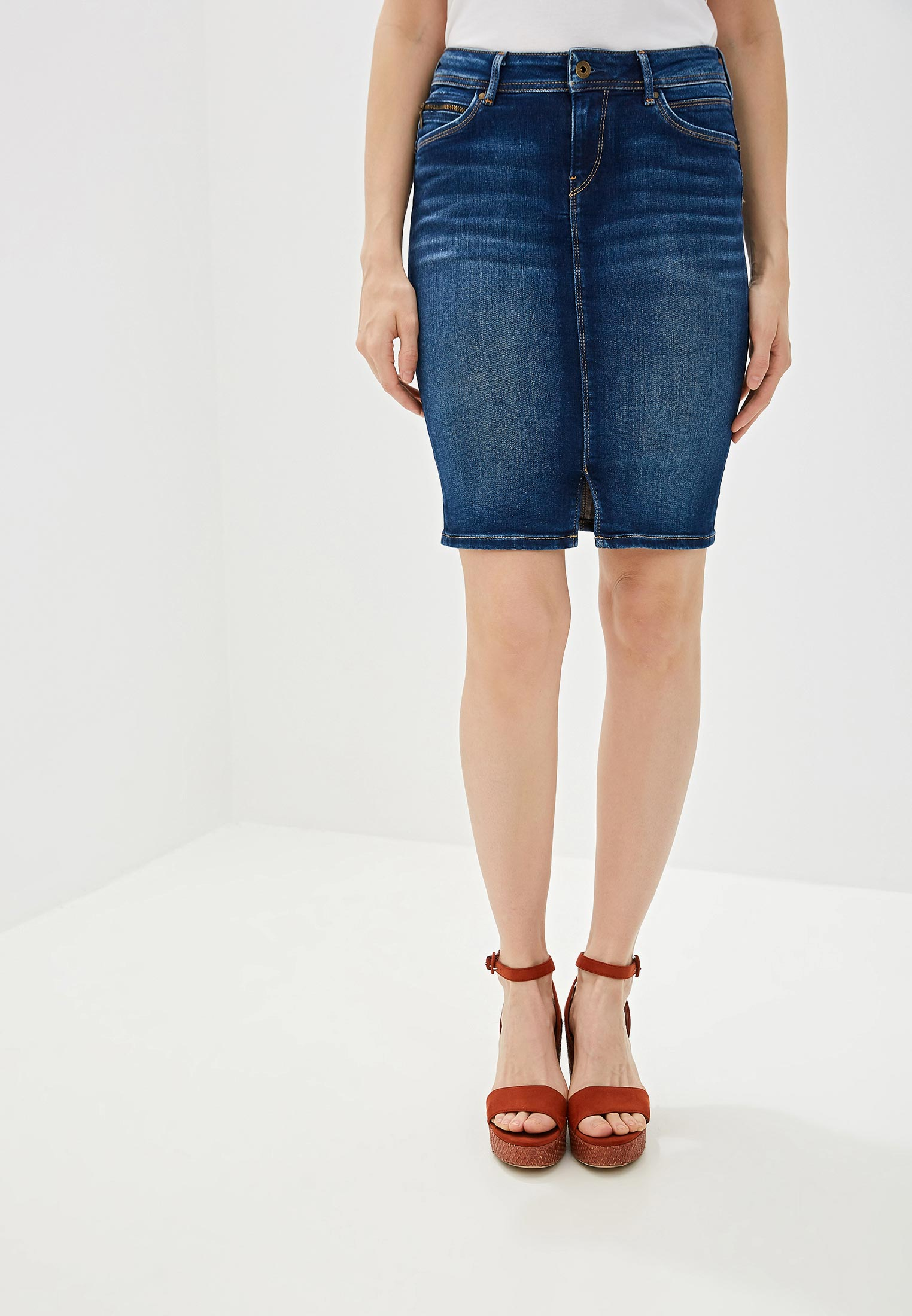 Джинсовая юбка Pepe Jeans (Пепе Джинс) PL900443DB4