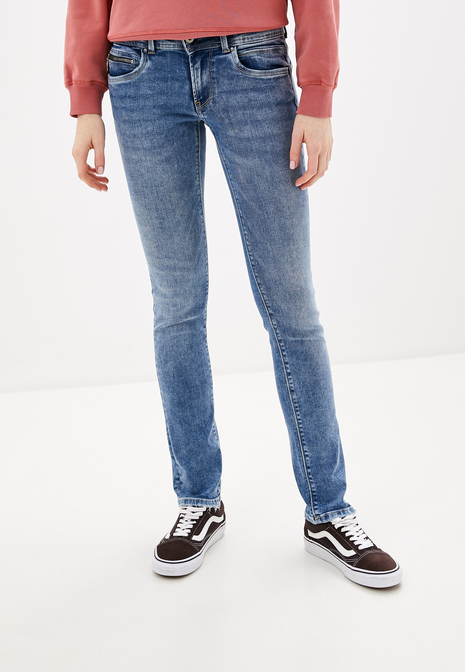Зауженные джинсы Pepe Jeans (Пепе Джинс) PL200019GS4